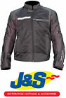 FRANK THOMAS FTW705 NEPTUNE AIR MESH MOTORCYCLE JACKET MOTORBIKE BLACK J&S NEW