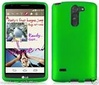 GREEN Snap-On Case Hard Cover for LG G3 Stylus