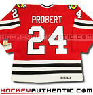 BOB PROBERT CHICAGO BLACKHAWKS JERSEY CCM VINTAGE RED