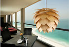New Modern style Wooden Pinecone Shape Small pendant lights ceiling lamp fixture