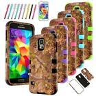 Hybrid Protect Rubber Rugged Hard Case Cover Skin For Samsung Galaxy S5 I9600