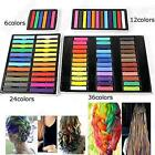 6 / 12 / 24 / 36 Colors DIY Non-toxic Temporary Hair Chalk Dye Soft Pastels Salon Kit