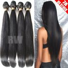 100% Unprocessed Brazilian Peruvian Indian Virgin Human Hair 7A 300g 3 bundle C7