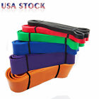 Resistance Band LOOP Exercise Pilates Pull Up Stretch Crossfit Gym ABS Workout image