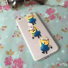 Cartoon Minions Despicable me Soft TPU Case Cover For iphone 6 & 6 Plus 5S 5
