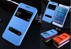 Double View PU Leather Case Cover For Samsung Galaxy Grand Prime G530 G5308W