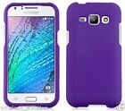 PURPLE Snap-On Case Hard Cover for Samsung Galaxy J1