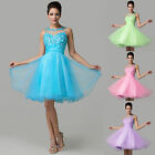CHEAP Tulle Short Prom Party Evening Gown Homecoming Dress Bridesmaid Graduation
