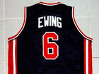 PATRICK EWING TEAM USA JERSEY NEW BLUE QUALITY ANY SIZE XS - 5XL