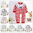 Unisex Baby Clothes Romper Split Pant Jumpsuit Sleepsuit Outwear Newborn Cotton