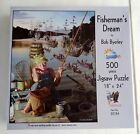 "SunsOut Fisherman's Dream by Bob Byerley 500 Piece Jigsaw Puzzle 18"" x 24"""