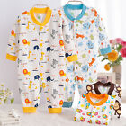 Unisex Newborn Baby Air-conditioner Clothes Romper Jumpsuit Sleepsuits Outwear