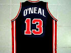 SHAQUILLE O'NEAL TEAM USA JERSEY SHAQ BLUE NEW ANY SIZE XS - 5XL