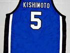 MINORI KISHIMOTO TOYOTAMA SLAM DUNK JERSEY BLUE  NEW    ANY SIZE XS - 5XL