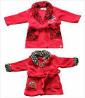BNWT Disney Cars Spiderman Fleecy Dressing Gown Pyjamas Sleep wear Size 1-6