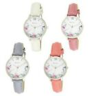 Ravel Ladies Picture Classic Strap Watch Round Rose Gold Case R0128