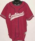 Vintage 90s MLB St. Louis CARDINALS JERSEY Russell SEWN Script LETTERS NWT NOS
