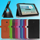 """PU Leather Stand Folio Flip Case Cover For LG G Pad F 8.0 8"""" V495 V496 Tablet"""