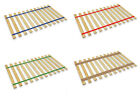 FC13 TWIN SIZE CUSTOM WIDTH COLORED STRAPS WOOD BED SLATS SUPPORT BOARD PLATFORM