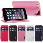 New Flip Leather View Window Skin Case Rubber Cover for Apple iPhone 6 4.7""