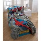 NEW BOY BED TWIN OR FULL COMFORTER MARVEL HEROES SPIDERMAN TOY STORY TRANSFORMER