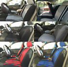 Auto Full Complete Seat Covers Front Bucket Airbag Safe Rear Split Bench Set 3N