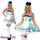 Alice in Wonderland Disney Fairytale Halloween Fancy Dress Adult Costume