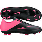 Nike Mercurial Victory IV FG 2015 Soccer SHOES New Black - Pink KIDS - YOUTH