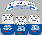 Xbox Gaming Controller Computer Game Tech Party Cupcake Toppers Cup Cake