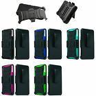 3-Layer Holster Stand Cover Case Sony Ericsson Verizon D6708 D-6708 Xperia Z3v