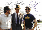 STEVEN SPIELBERG AND HARRISON FORD (INDIANA JONES) 01 CAST SIGNED PHOTO PRINT 01