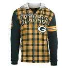 NFL Football Team Logo Flannel Hooded Jacket - Pick Your Team!
