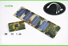 New type 8W/5V  folding Solar Panel Charger USB Ports for UPS/iPhone/iPad/camera
