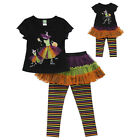 "Dollie & Me 6-8  and 18"" doll matching set fit american girl  witch Halloween"