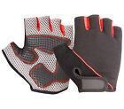 CYCLING GLOVES RIDING BICYCLE BIKE FINGERLESS SPORTS WEIGHT LIFTING HALF FINGER