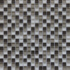 "Glass Mosaic Tile, ""Plateau Collection"" GM 1101 - Square, 5/8""X5/8"" Square"