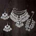 Bohemian Fashion Vintage Jewelry Thai Silver Pendant Necklace Earrings Bracelet