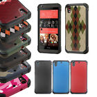 For HTC Desire 626 / 626s / 530 Dual Layer Armor Fusion Case Hybrid Cover