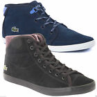 Lacoste Women's Ziane Chukka COR Lace Up Trainers High Top Canvas 2 Colours