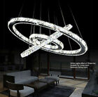 Diamond rings LED crystal Pendant light DIY Modern crystal Chandeliers ceiling