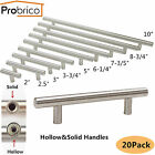 Probrico 20PACK Solid/Hollow Stainless Steel Cabinet Door Handles Drawer Pulls