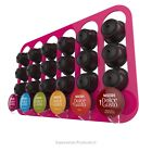 Dolce Gusto coffee capsule pod holder, wall mounted rack, holds 8-48 capsules