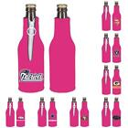 NFL Football Womens Hot Pink Bottle Holder Zipper Cooler- 2 Pack - Pick Team! $11.99 USD on eBay