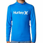 HURLEY Boys O & O Rashie Wet Surf Swim Rash Vest Shirt Top (8 10 12 14 16) NEW