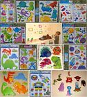 DINOSAURS MONSTERS SPACE ALIEN BOYS KIDS GIRLS NURSERY WALL STICKERS DECALS BABY