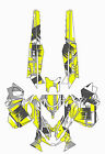 Ski Doo REV XM Graphic Kit Wrap Decals Stickers Tunnel Shred Design B.A.W