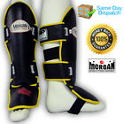 MORGAN PROFESSIONAL SPARRING SHIN PADS - guards muy thai boxing kickboxing MMA