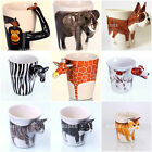 Funny novelty dog animal cat mugs collectable handmade ceramic tea coffee mug