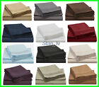 3 sheet sets 1800 tc navy blue, dark brown, charcoal gray in king size