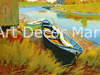 Boats At Rest-Dow - - CANVAS OR PRINT WALL ART